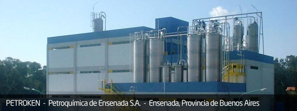 Planta Industrial Polipropileno - PETROKEN PESA - Ensenada, Buenos Aires