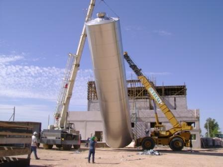 Construcción Planta Industrial Lácteos La Ramada